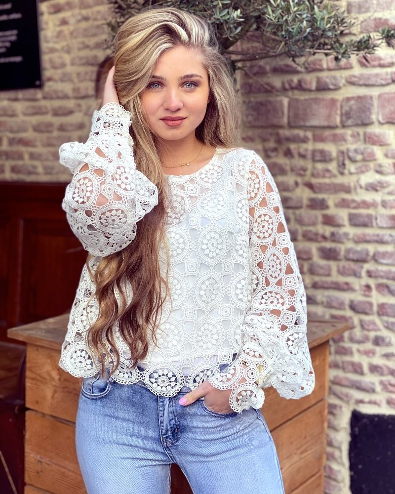 Miley Blouse - White