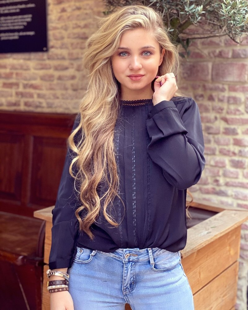 Rose Blouse - Black