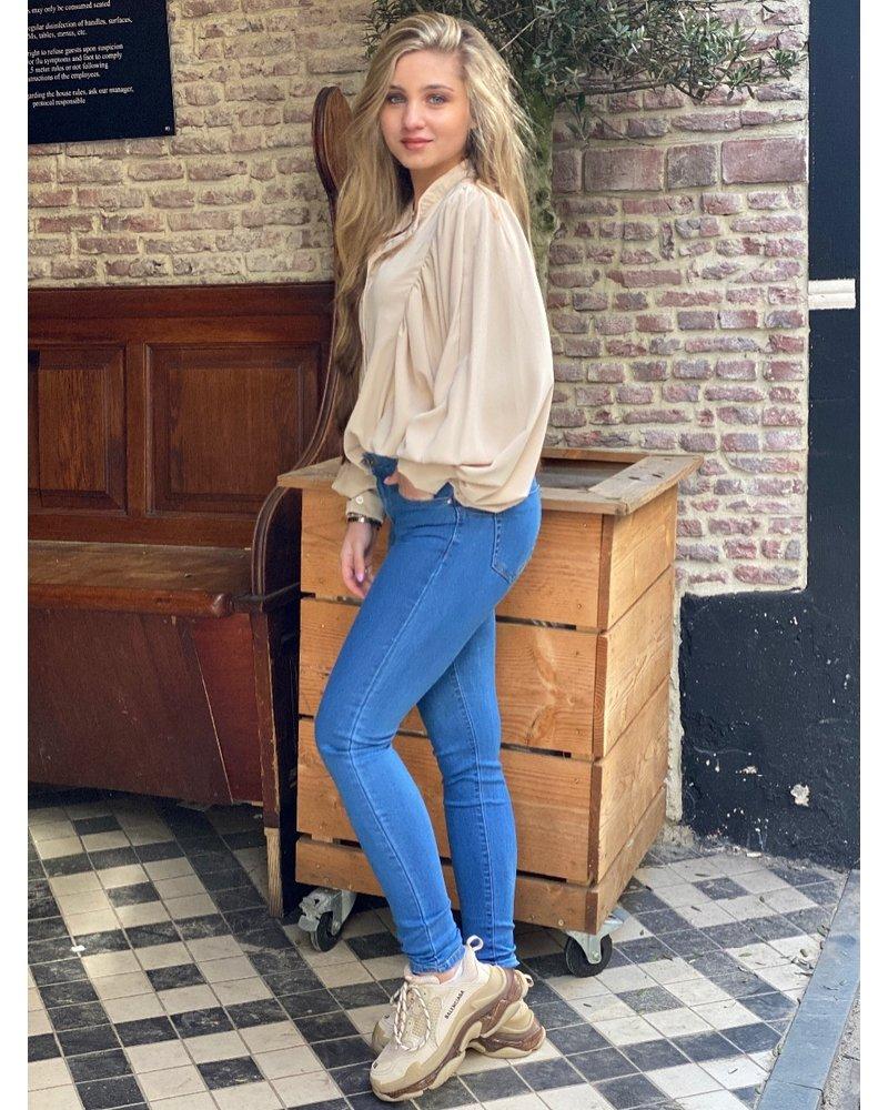Fleur Push Up Jeans - Denim