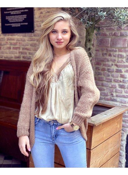 Lucy Vest - Camel