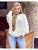 Basic Butterfly Sweater - White