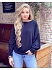 Basic Butterfly Sweater - Black