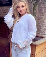 Saige Blouse - White
