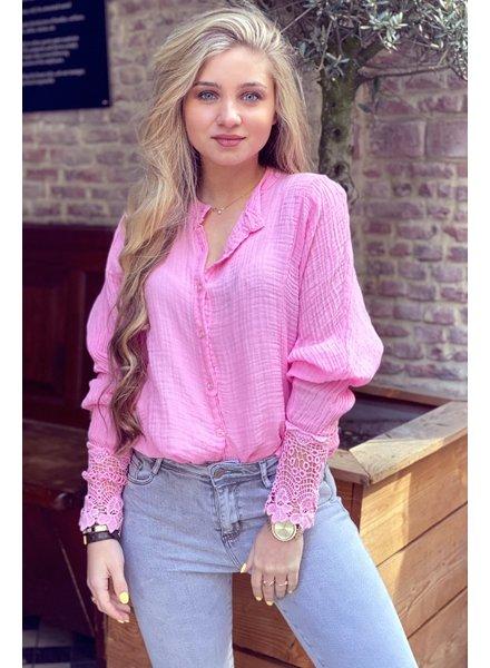Saige Blouse - Pink
