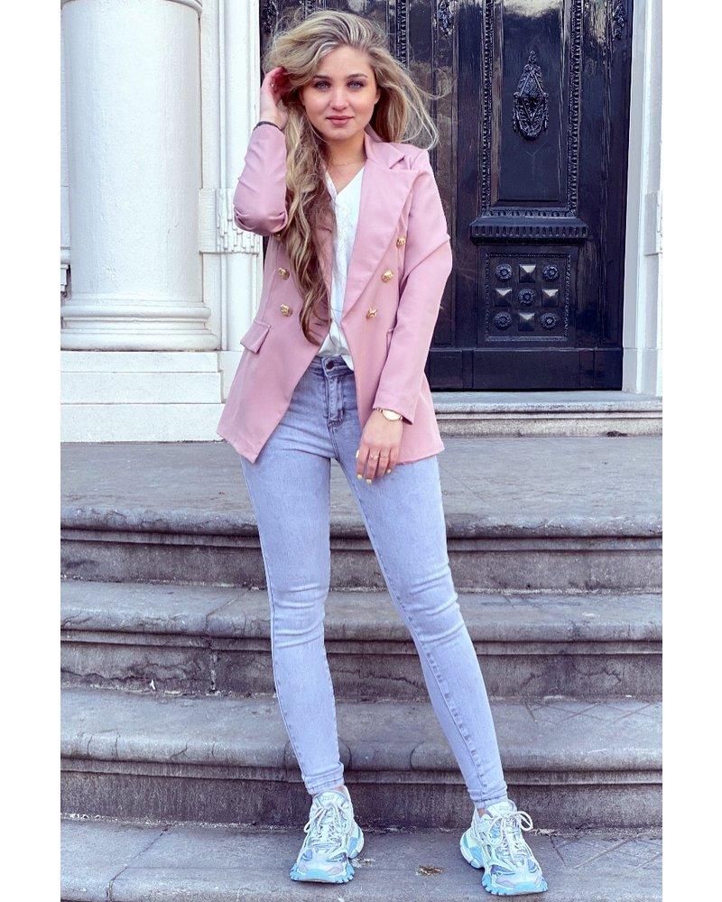 Eve Blazer - Light Pink