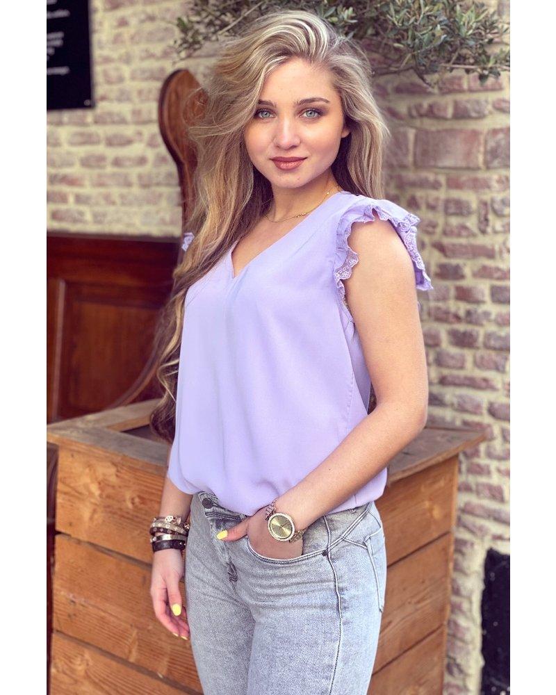 Eline Top - Lilac