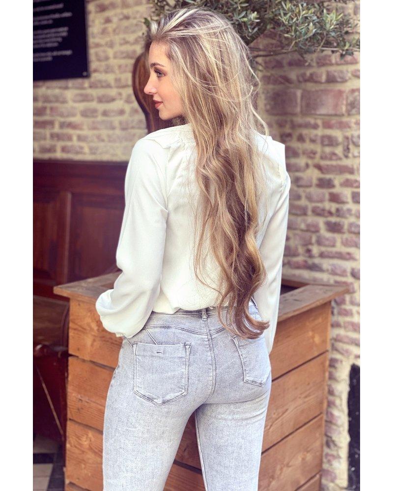 Lisa Blouse - White