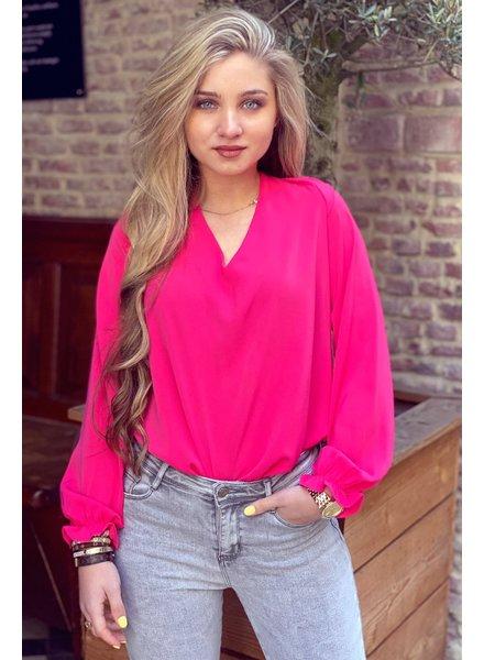 Lisa Blouse - Pink