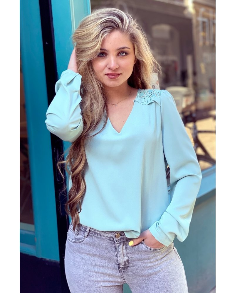 Fenna Blouse - Mint