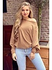 Basic Butterfly Sweater - Camel