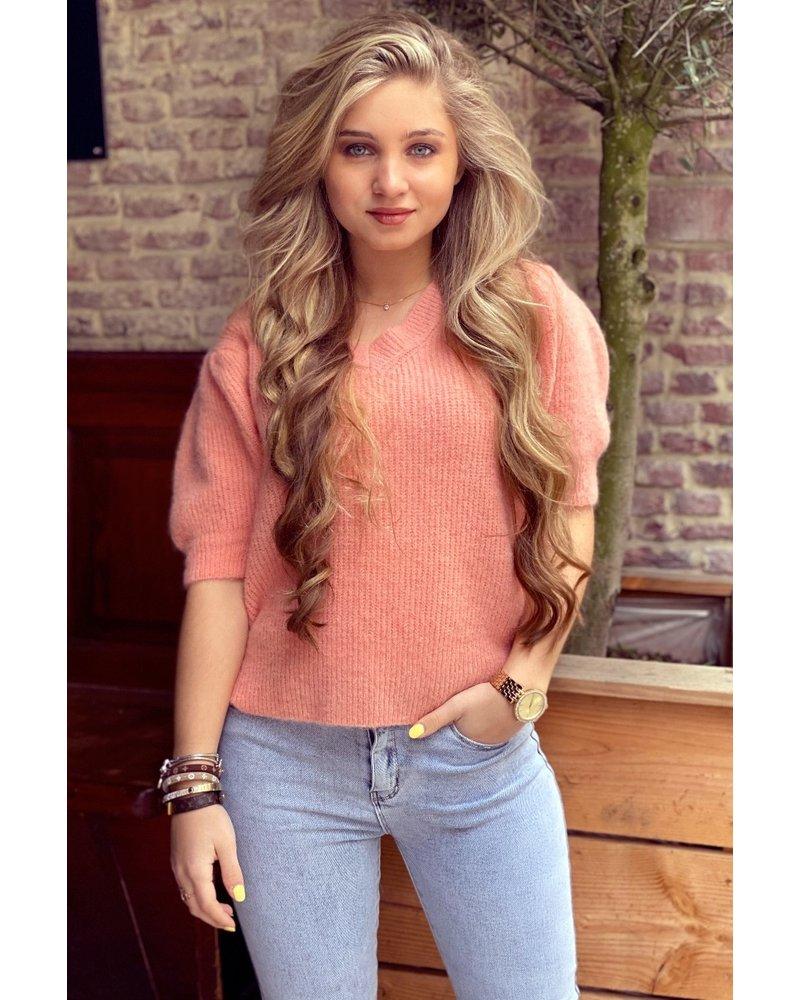 Pip Sweater - Peach