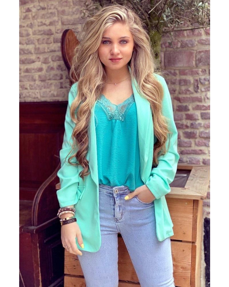 Filou Blazer - Turquoise
