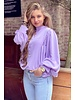 Bo Butterfly Blouse - Lilac