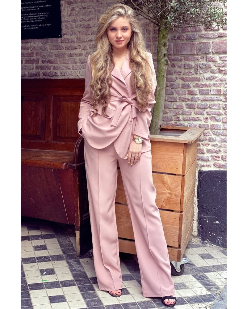 Suzy Suit - Old Pink