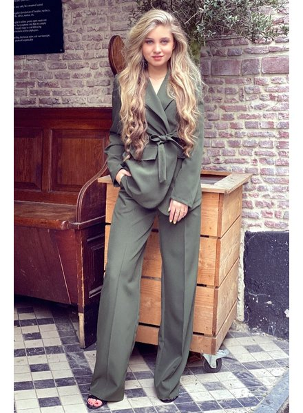 Suzy Suit - Army Green