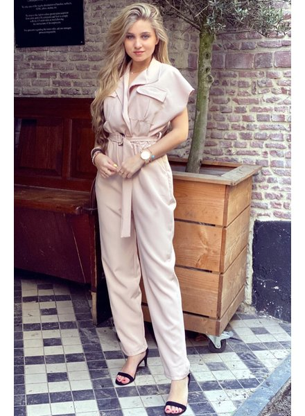 June Jumpsuit - Light Pink
