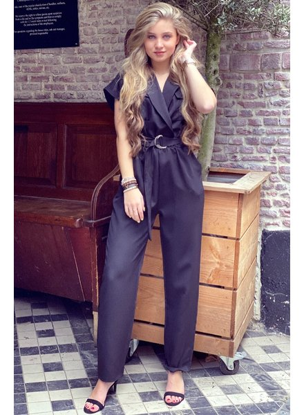 June Jumpsuit - Black