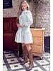 Cute Broderie Dress - White