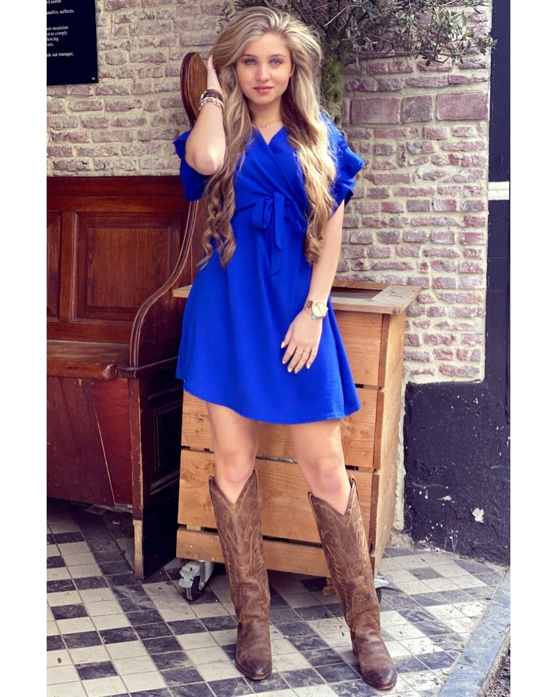 Holly Dress - Kobalt
