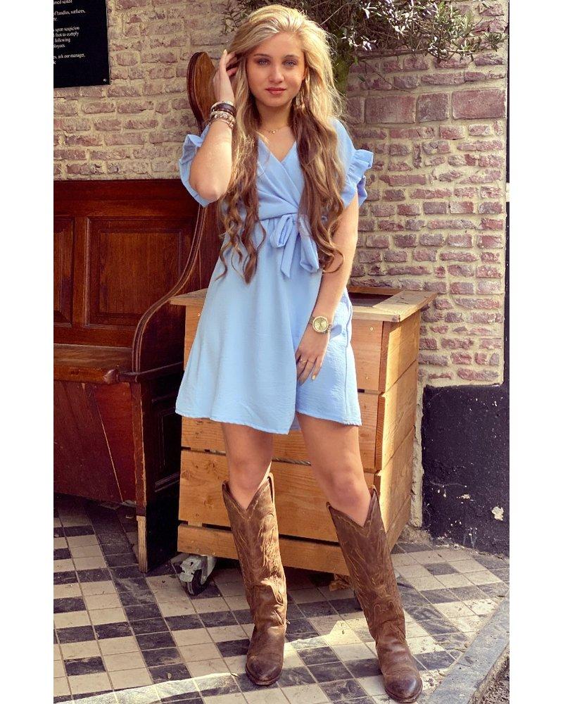 Holly Dress - Light Blue