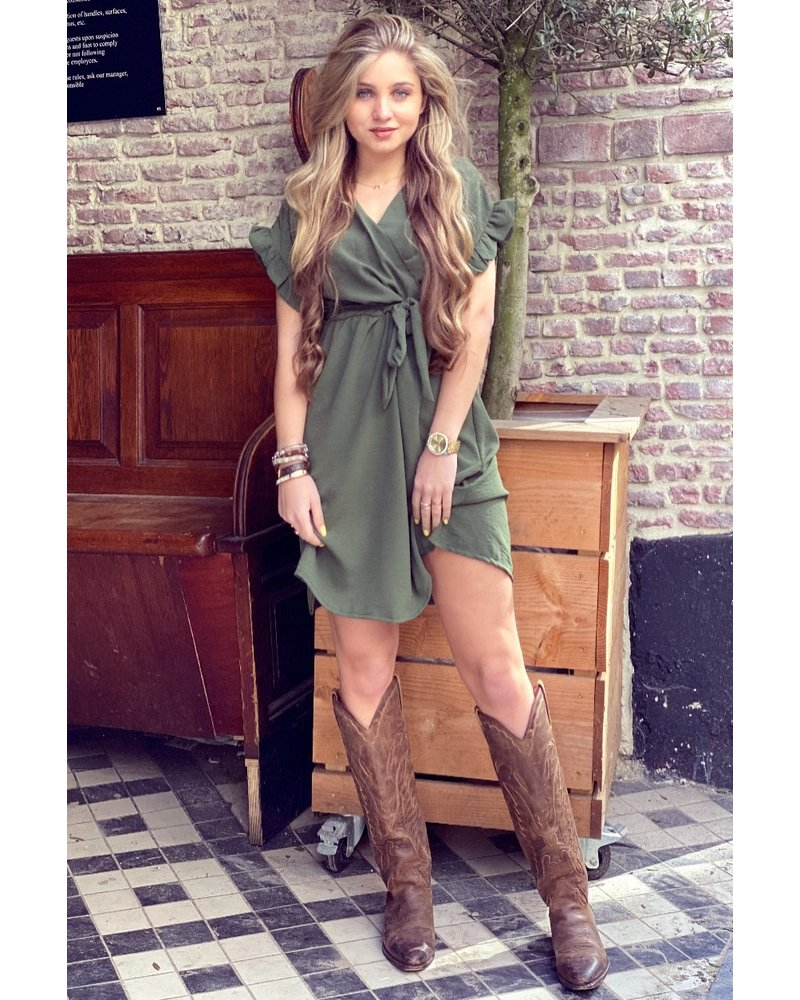 Holly Dress - Army Green