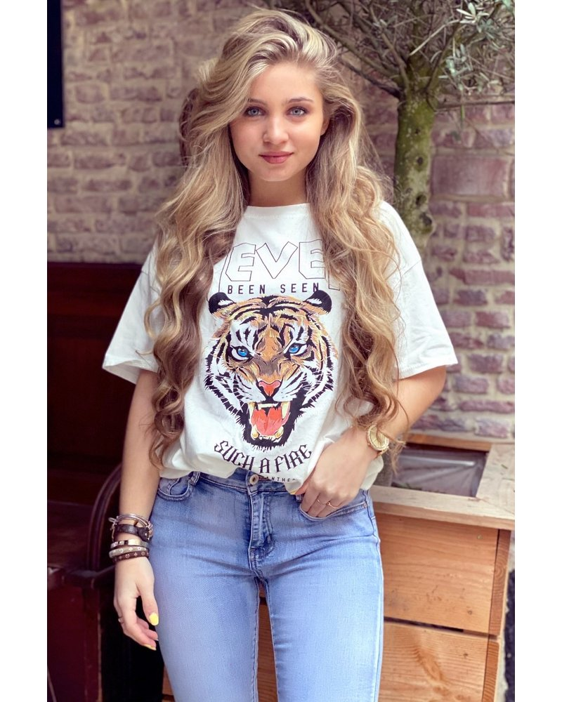 Ivy Tiger Shirt - White
