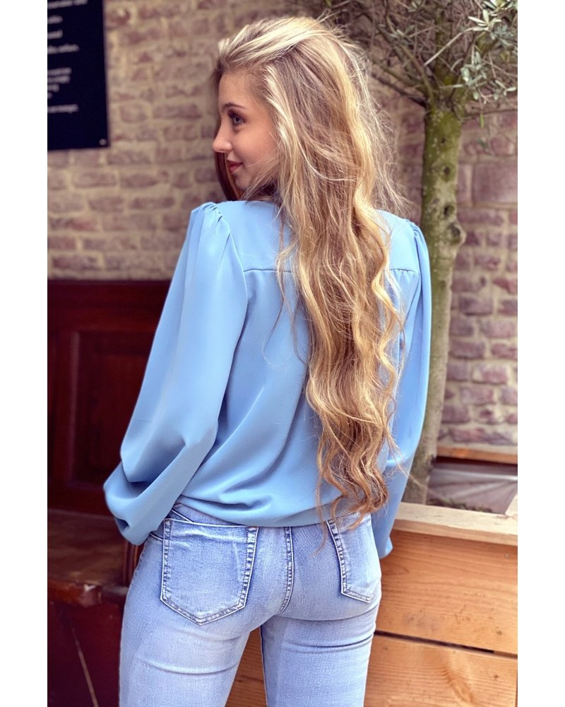 Danae Blouse - Blue