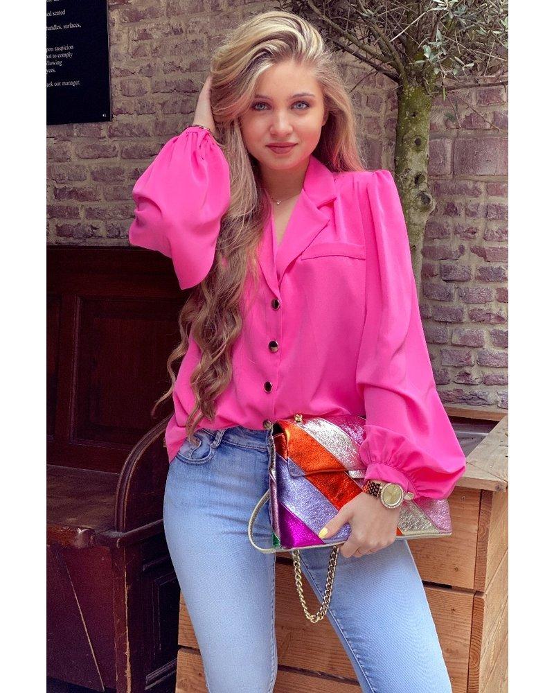 Danae Blouse - Pink