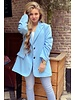 Boyfriend Blazer - Light Blue