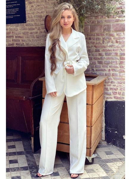 Suzy Suit - White