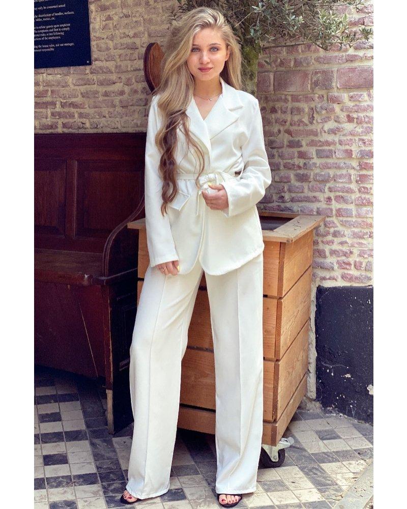 Suzy Suit - White