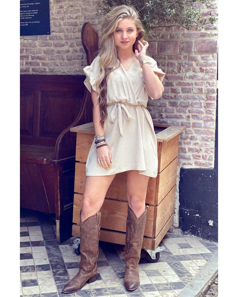 Holly Dress - Beige
