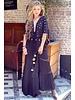 Lola Bohemian Maxi Dress - Black