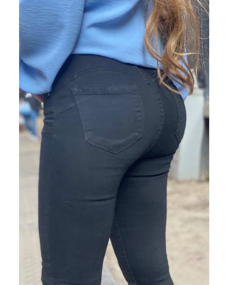 Mabel Push Up Jeans - Black