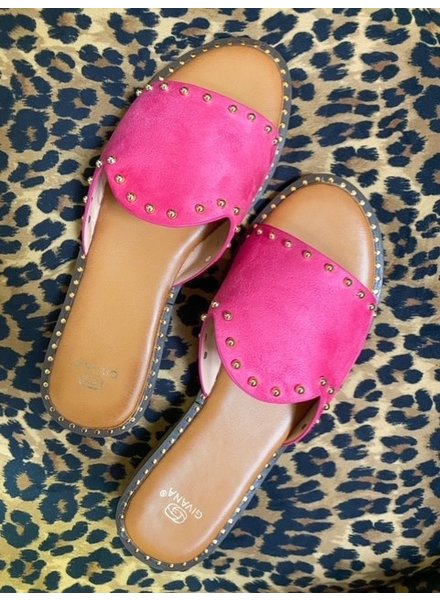 Summer Sandal - Fuchsia