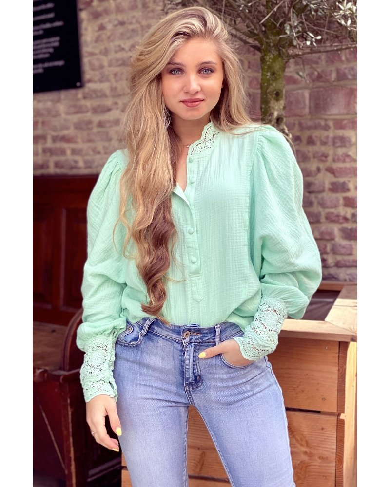 Lotte Blouse - Mint