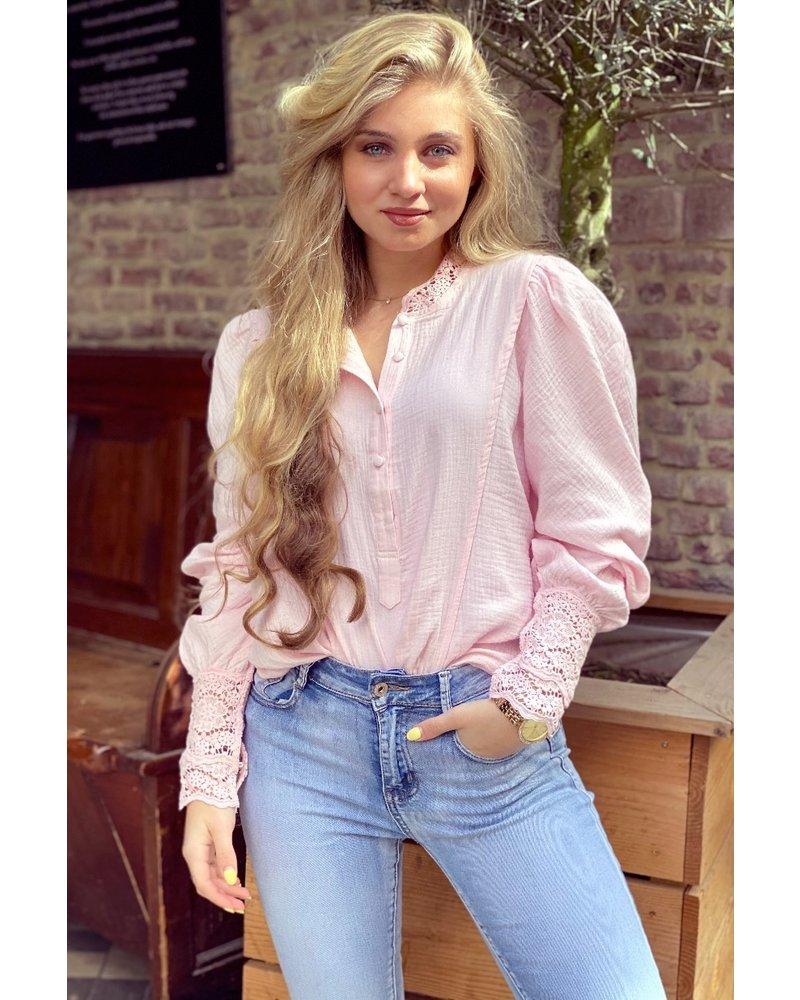 Lotte Blouse - Light Pink