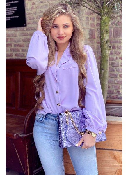 Danae Blouse - Lilac