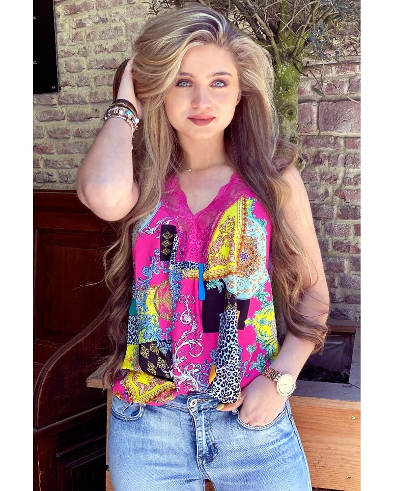 Evy Lace Top - Pattern