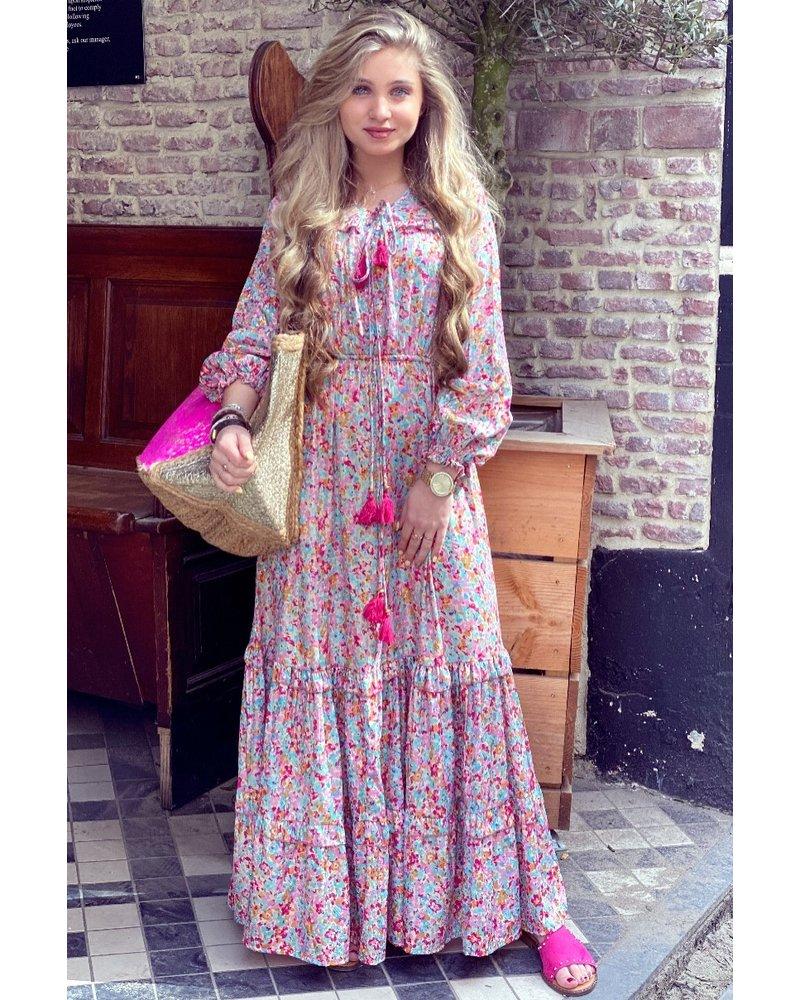 Joan Maxi Dress - Fuchsia