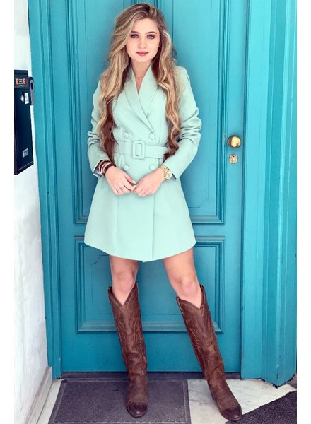 Josh Blazer Dress - Mint