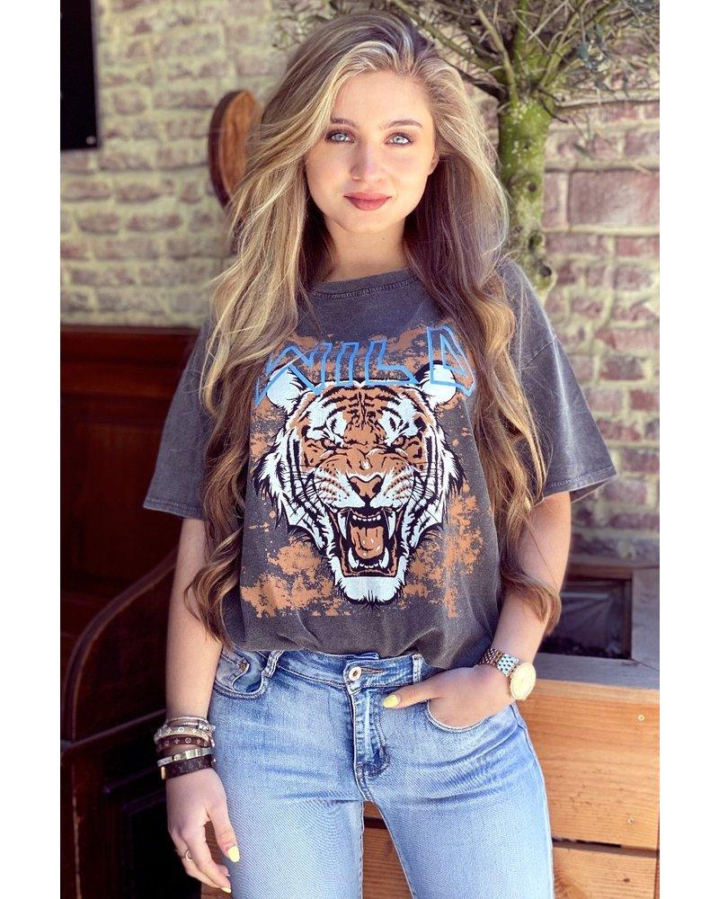 Cis Tiger Shirt - Grey