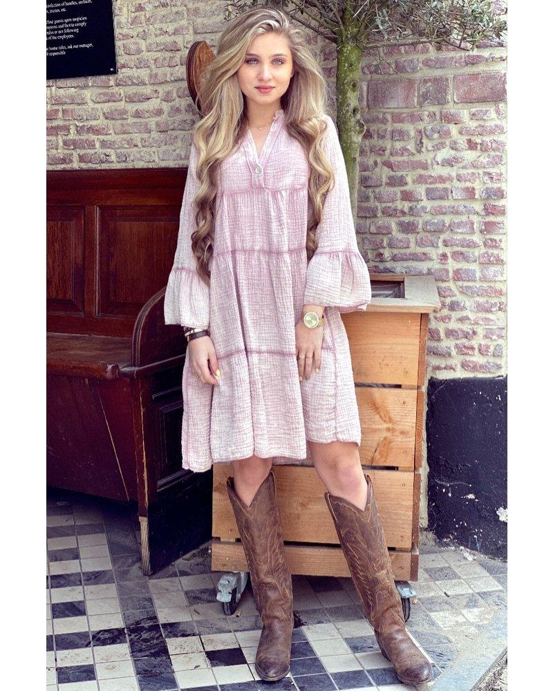 Saige Dress - Pink