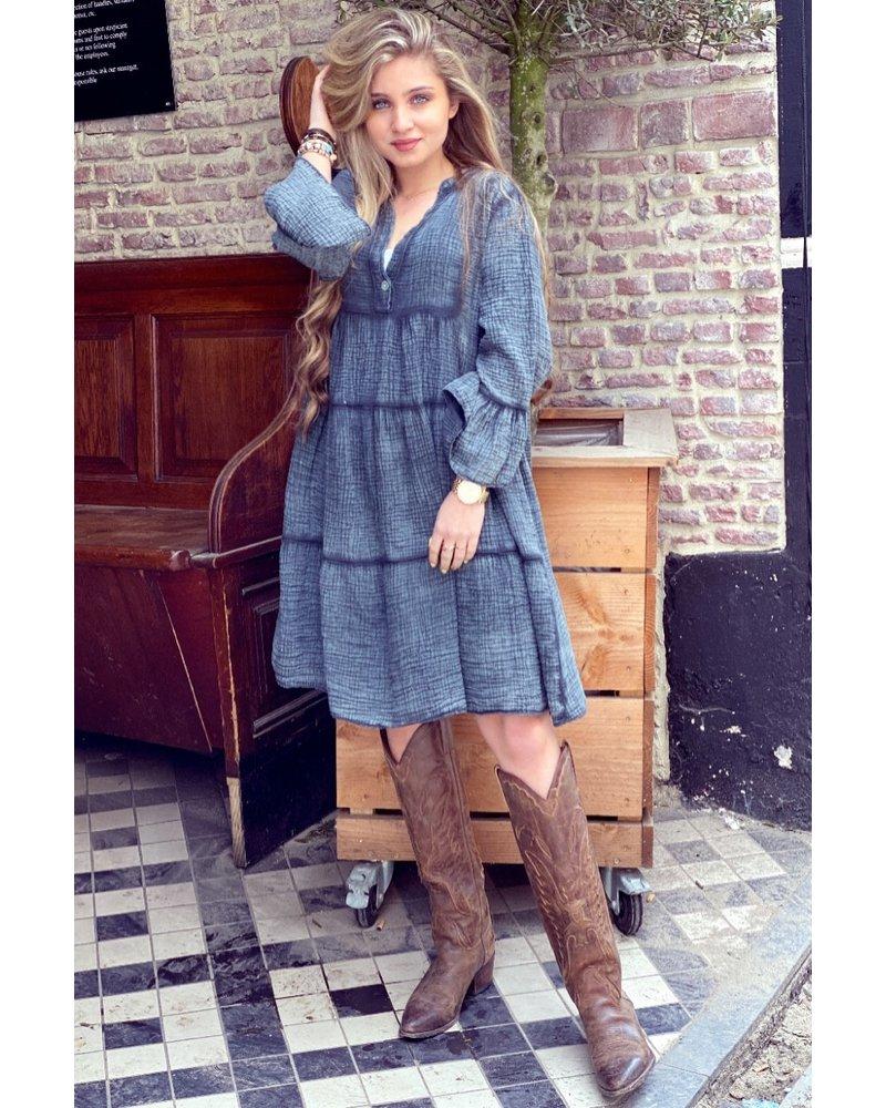 Saige Dress - Grey