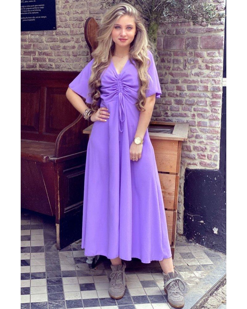 Kyra Midi Dress - Lilac