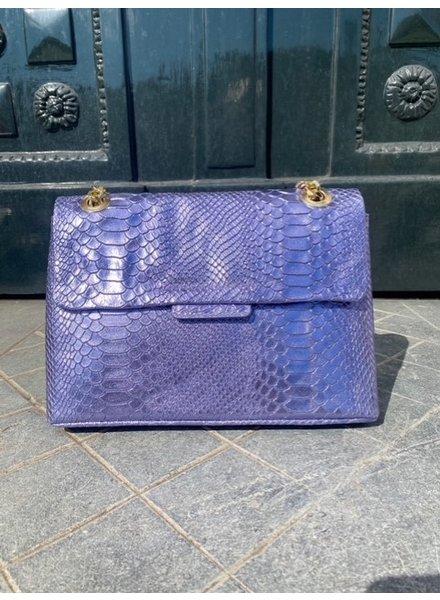 Croco Bag - Lilac