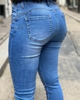 Demi Push Up Jeans - Denim