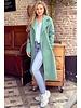 Poppy Parisian Coat - Turquoise