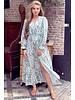 Leah Flower Dress - Mint