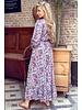 Leah Flower Dress - Lilac